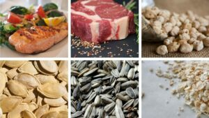 foods rich in Zinc (Zn)