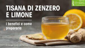Tisane allo Zenzero e Limone