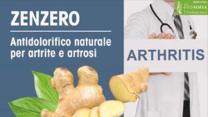 Zenzero contro dolori di artrite e artrosi