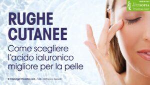 Acido ialuronico benefici pelle