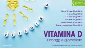 Vitamina D dosaggio giornaliero