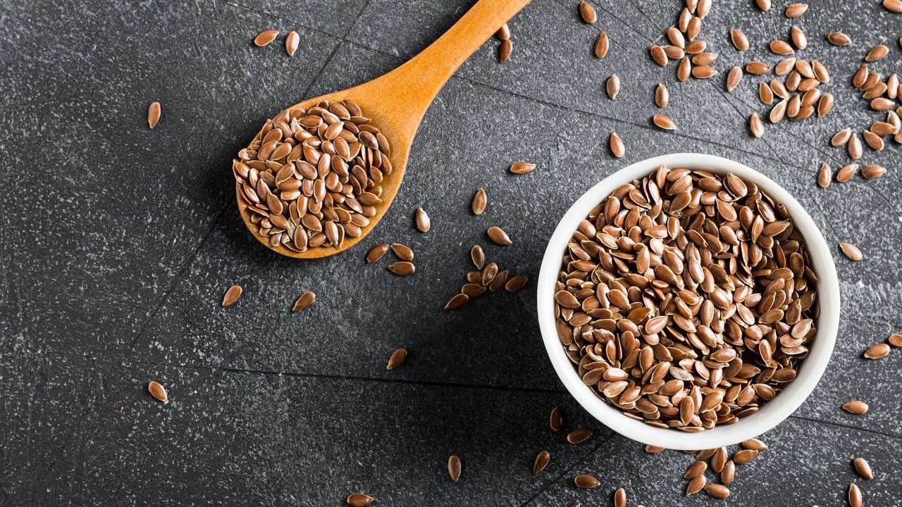 Olio di semi si lino aiuta a dimagrire